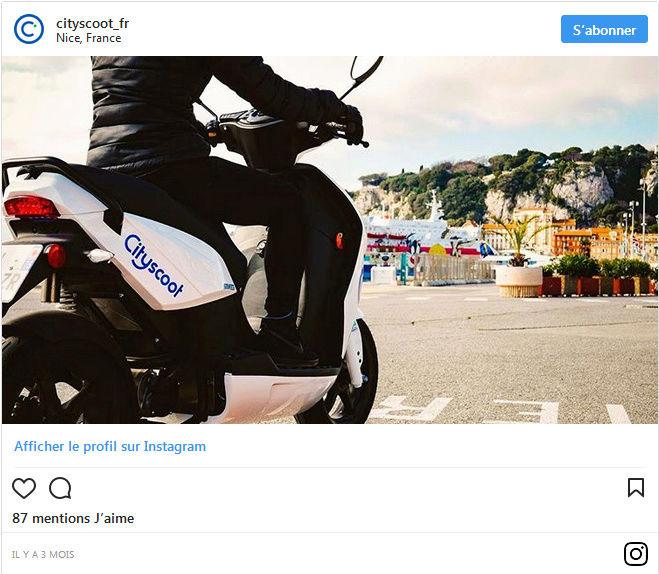 Avec Cityscoot, des scooters en libre service bientôt partout en France ! By DETOURS                            Captu143