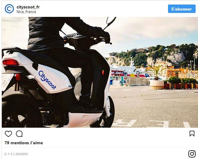 Les scooters électriques en libre-service débarquent partout en France ! By DETOURS                         Captur89
