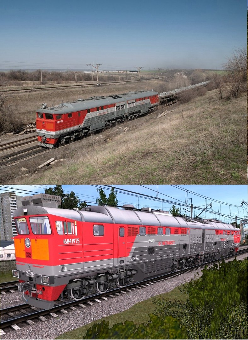 тепловозы и  локомотивы - Страница 4 Ixezj411