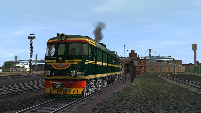тепловозы и  локомотивы - Страница 4 Ixk_qa10