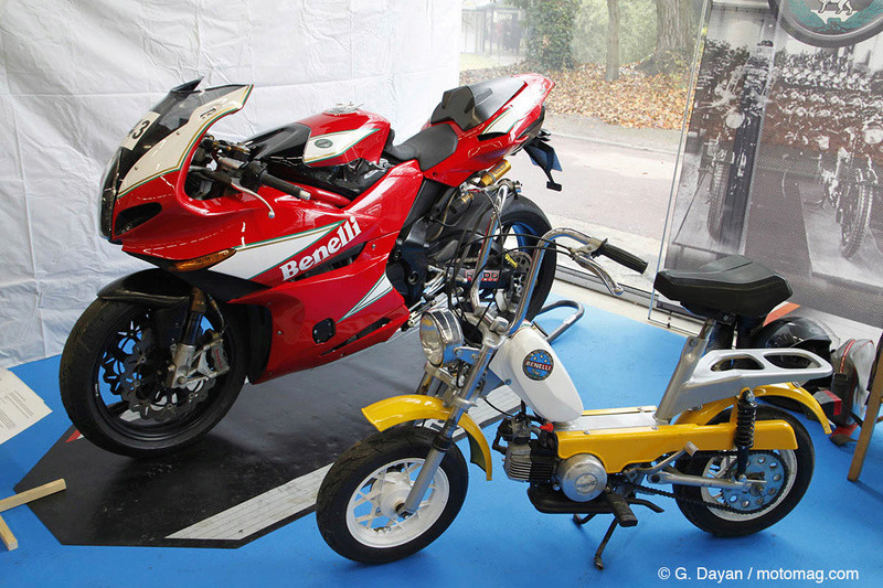 salon moto légende 2018 Benell10