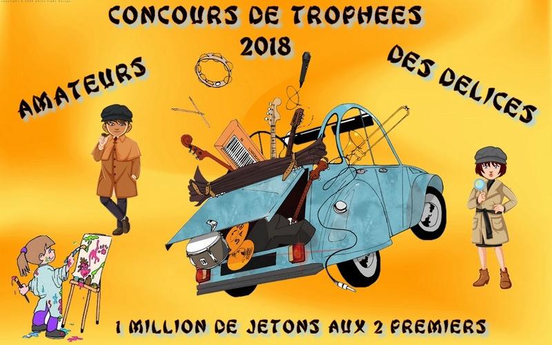2 EME GRAND CONCOURS DE TROPHEE ORGANISE PAR L'EQUIPE DES DELICES Trophe35