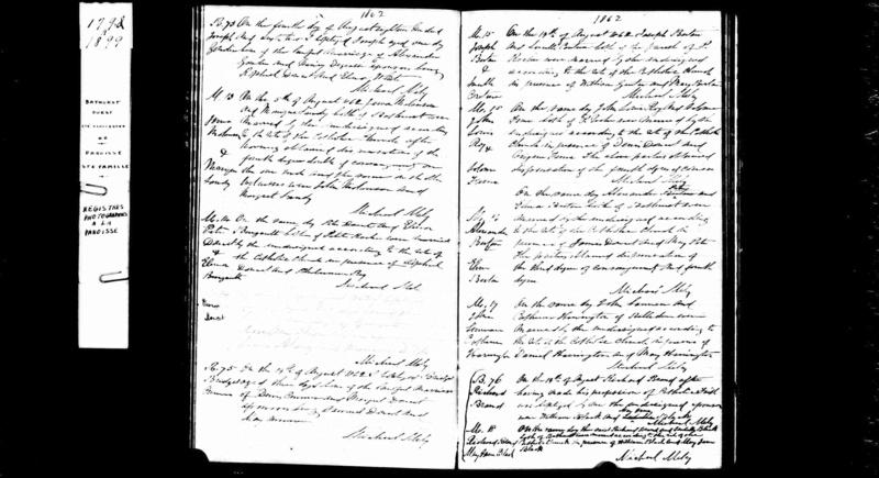 Mariage de Joseph Bertin avec Lucille Couture, Nouveau Brunswick Joseph10