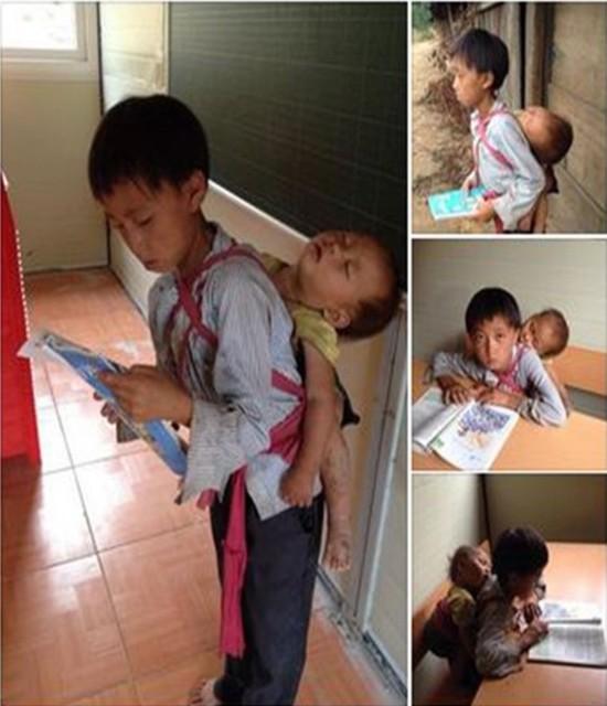 Những bức ảnh về tình yêu thương của anh em, chị em, trong cảnh nghèo, khiến người xem rơi lệ Oie_jw10