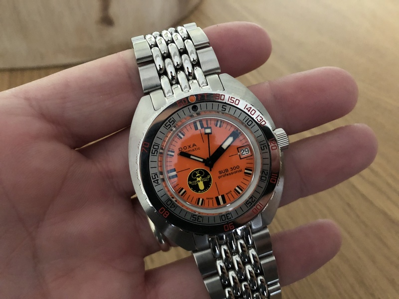 Recien llegado: Doxa Black Lung 8cef6a10