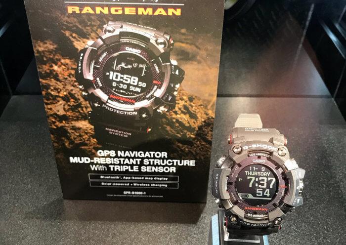 Nuevo G-Shock Rangeman (GPR-B1000-1) Range110
