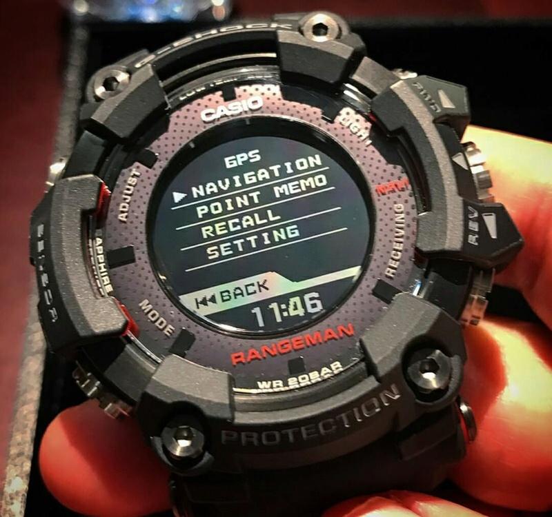 Nuevo G-Shock Rangeman (GPR-B1000-1) Range210