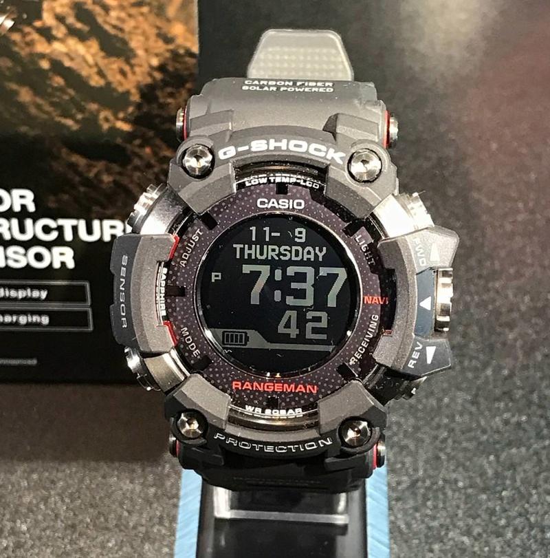 Nuevo G-Shock Rangeman (GPR-B1000-1) Range310