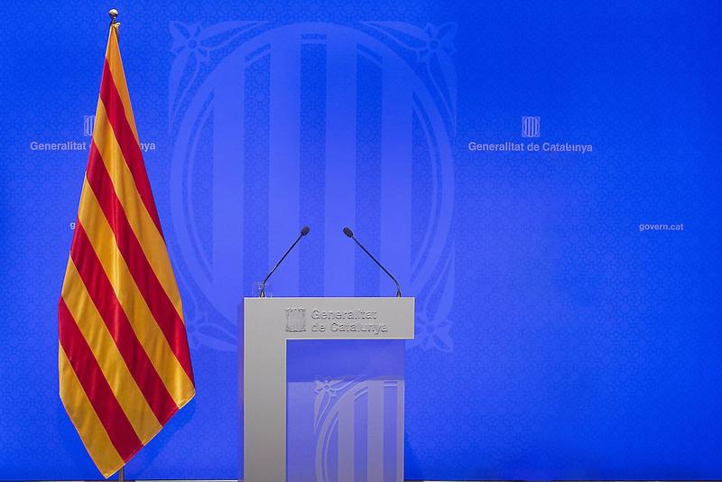 GOVERN | Comparecencia del President Puigdemont sobre la crisis de Pontons y Vall d'Aran Lexpre11