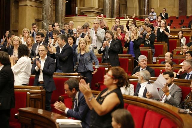 Parlament | Debat en relació a les conseqüències de l'aplicació de l'article 155 Parlam10
