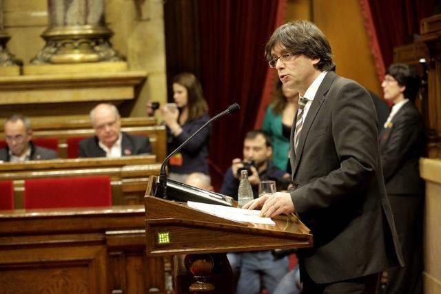 PRESIDENCIA | Sesión de investidura de Viktor Petrovic como Primer Ministro Puigde12