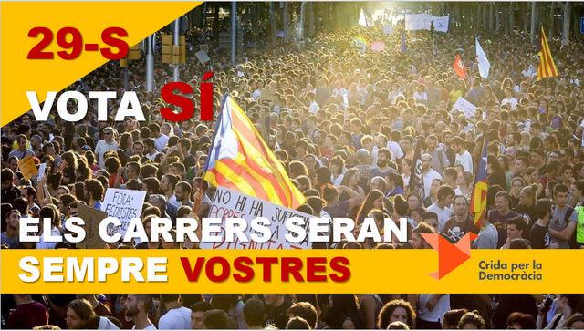 Crida Democràcia | Campanya Electoral Refere12