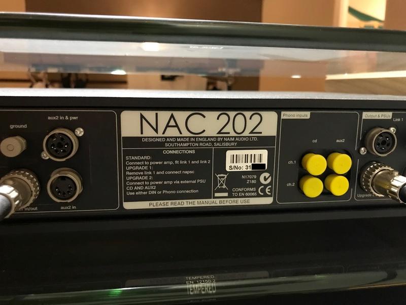 Naim NAC202 + Power Supply NAPSC & NAP200DR Img_8312