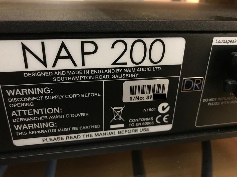 Naim NAC202 + Power Supply NAPSC & NAP200DR Img_8313