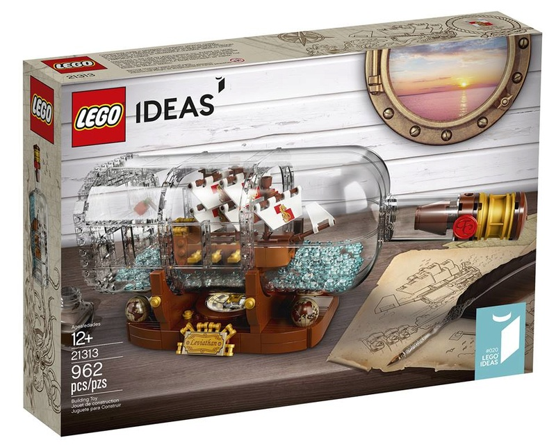 Lego Ideas 21313 Ship in a Bottle - Available February 2018 515