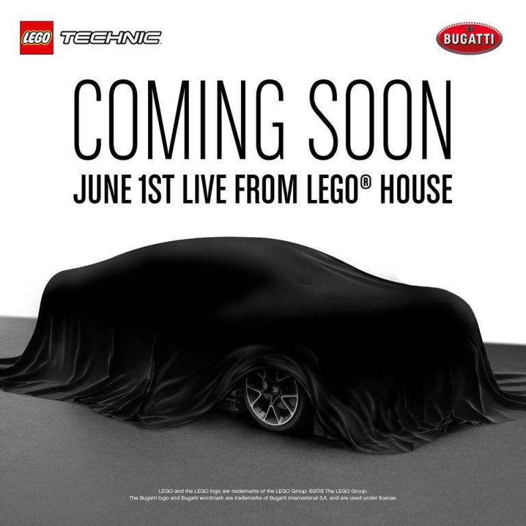 LEGO Technic Bugatti Chiron! B13