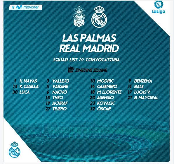 LAS PALMAS - REAL MADRID 0-cv10