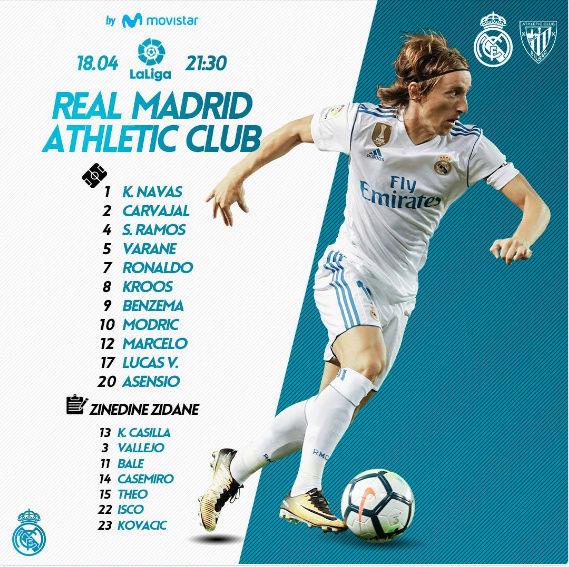 REAL MADRID - Ath. BILBAO 0o10