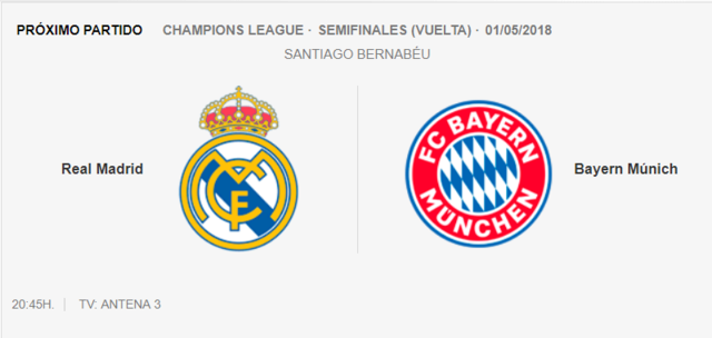 REAL MADRID - BAYERn 3-110
