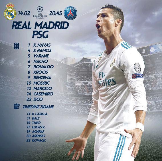 Real Madrid - PSG - Página 2 5-110