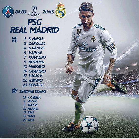 PSG - Real Madrid Alinea10