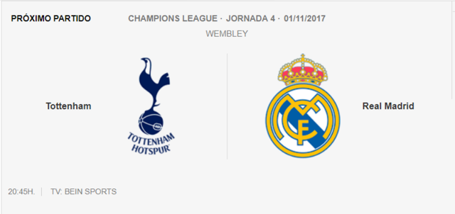 Tottenham - Real Madrid  Cha11