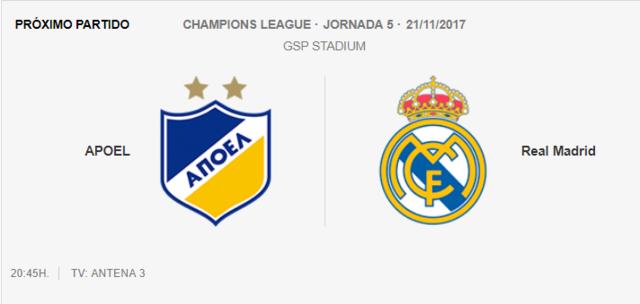 Apoel- Real Madrid Cham10