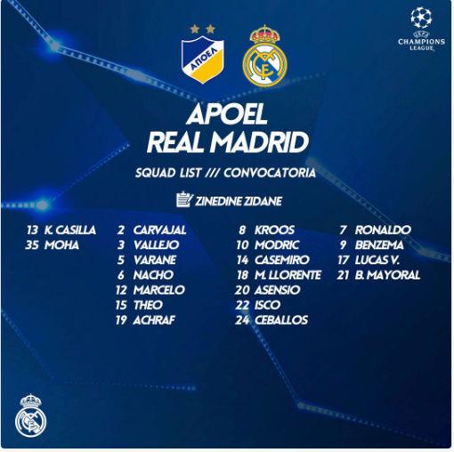 Apoel- Real Madrid Conv11