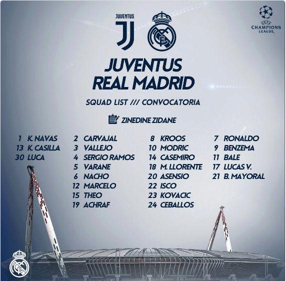 JUVENTUS - REAL MADRID Conv13