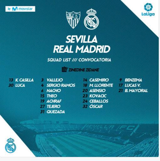 SEVILLA - REAL MADRID Conv16