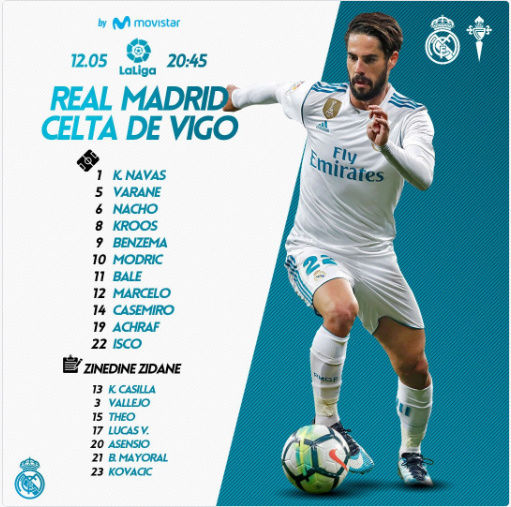 REAL MADRID - CELTA Cov10
