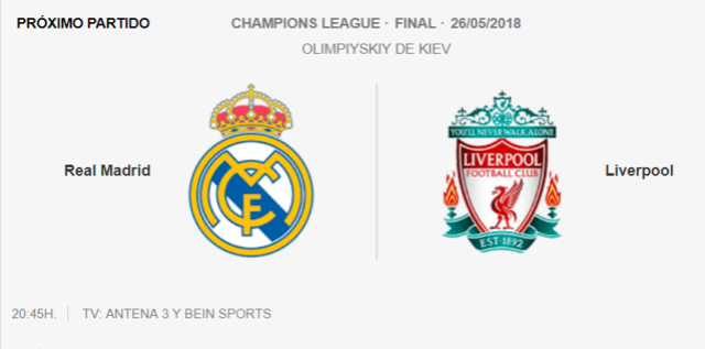 LIVERPOOl - REAL MADRID Final10