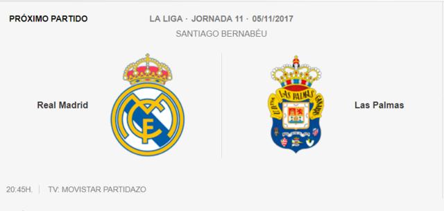 REAL MADRID - LAS PALMAS Liga11