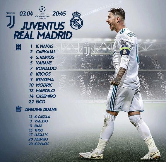 JUVENTUS - REAL MADRID On10