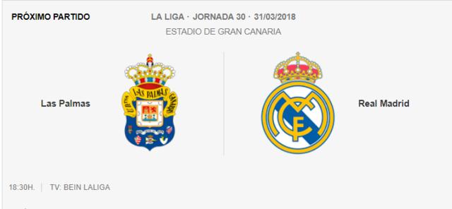 LAS PALMAS - REAL MADRID Pa-r10