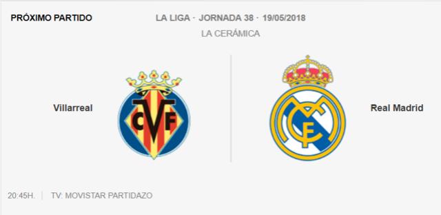 VILLARREAL - REAL MADRID Pa11