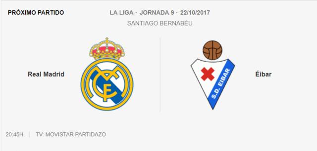 REAL MADRID- EIBAR Partid10
