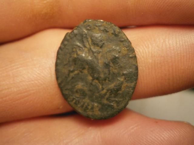 AE2 de Magnencio. GLORIA ROMANORVM. Trier Pa160011