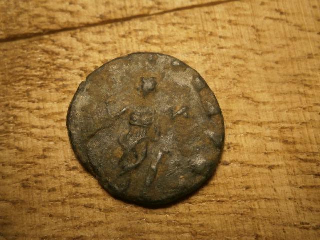 Antoniniano de Galieno. SECVRIT PERPET. Roma Pb020027