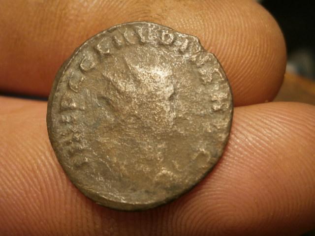Antoniniano de Claudio II. GENIVS EXERCI. Roma Pc170031