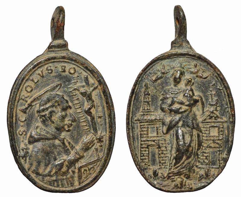 San Carlos Borromeo / Virgen de Loreto (R.M. SXVII-O459) 3610