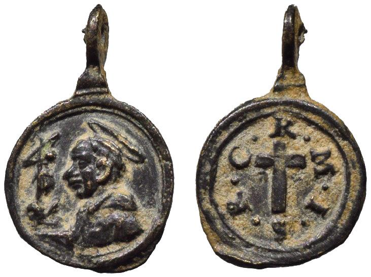 San Carlos Borromeo / Emblema Padres Camilianos (R.M. SXVII-C83) C-08910