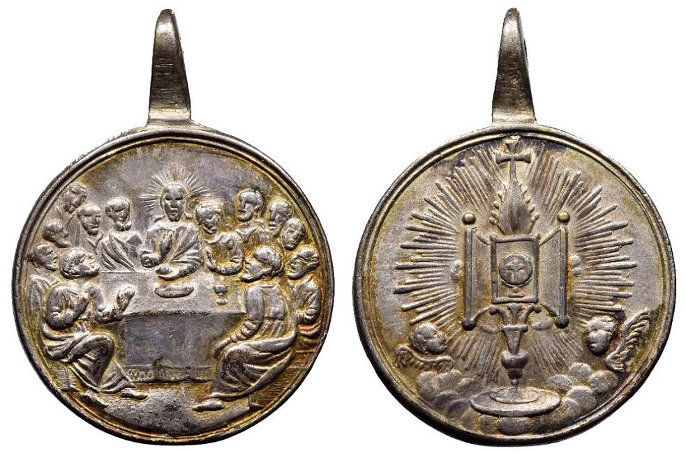 Última cena / Ostensorio (R.M. SXVIII-C176) C-096010