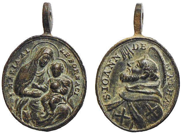 Madonna delle Grazie di Santa Maria delle Fornaci / San Juan de Mata (R.M. SXVIII-O388) O-232010