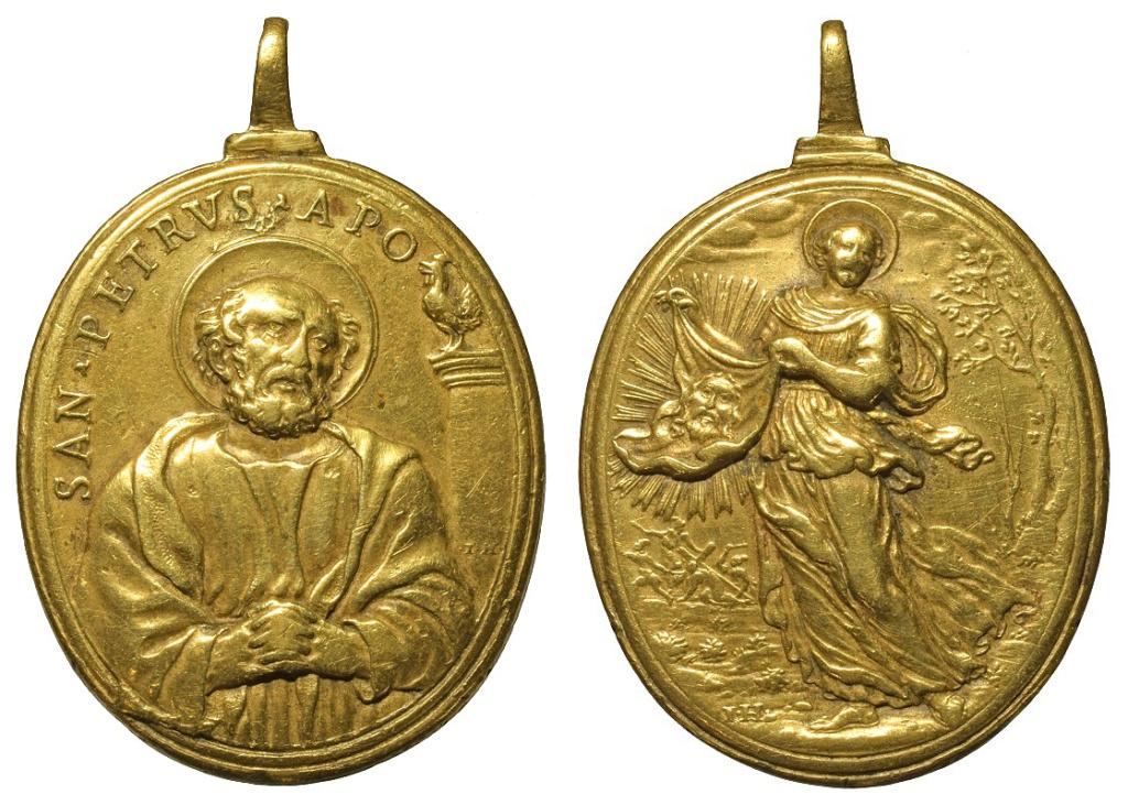 San Pedro apóstol / Santa Verónica (R.M. SXVII-O512) O-34910