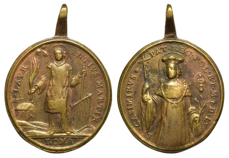 San Lorenzo, diácono / San Casimiro, príncipe de Polonia (R.M. SXVIII-O443) O-35110