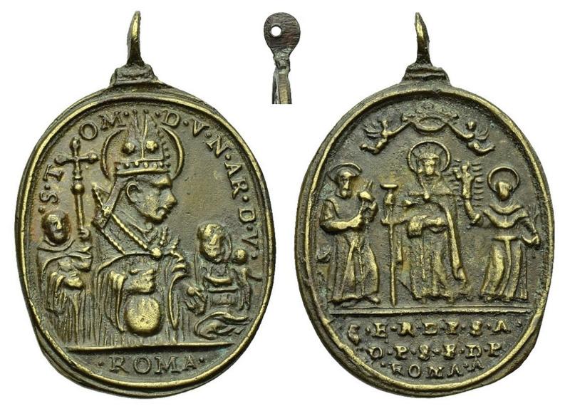 S. Tomás de Villanueva / S. Isabel de Portugal, S. Antonio de Padua y S. Francisco de Paula O-355_10