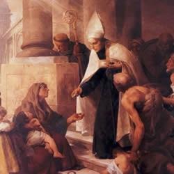 S. Tomás de Villanueva / S. Isabel de Portugal, S. Antonio de Padua y S. Francisco de Paula O-355a10