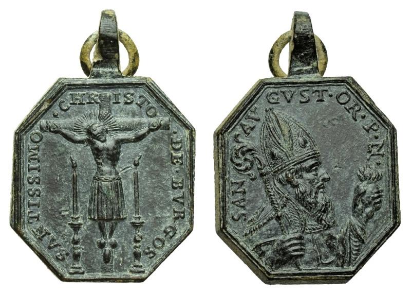 Santo Cristo de Burgos / San Agustín de Hipona  (R.M. SXVIII-P117) P-12910