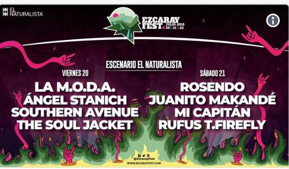Rock Land Fest 2020: 17, 18 y 19 de julio. Santo Domingo de La Calzada. El Drogas - Página 2 Scree110